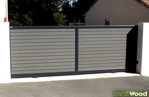 Portail Ocewood anthracite